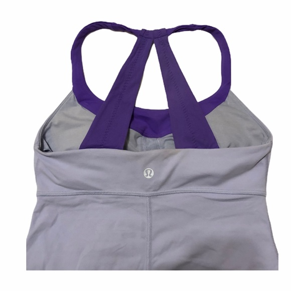 lululemon athletica Tops - Lululemon Women's Sexy Yoga Purple Tank Top